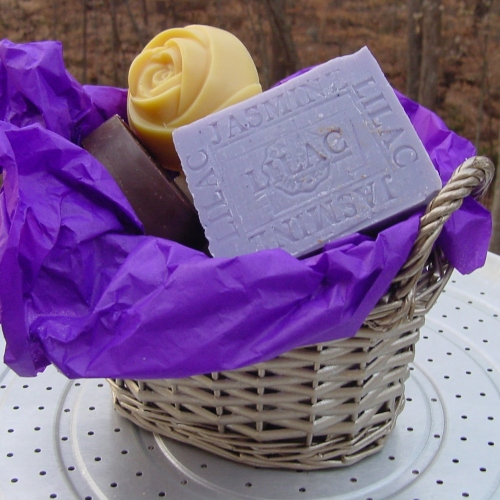 Valentines soap gift