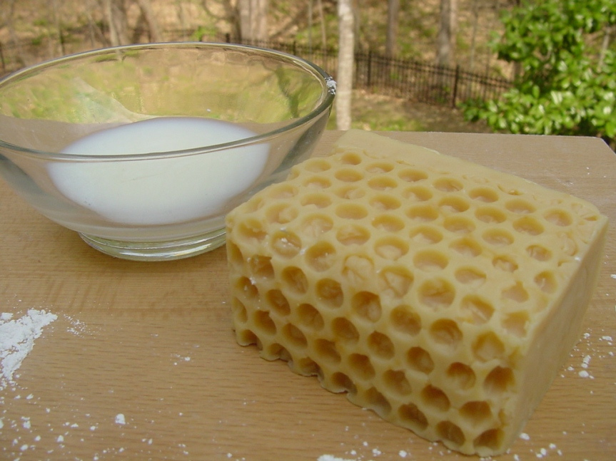This Butter and Goat's Milk are great for combination skin and has a luxurious lather.