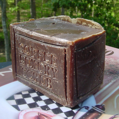 Decorative coffee soap - handmade luxury