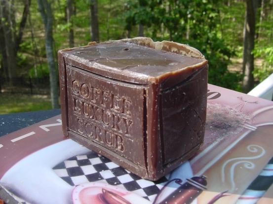 Coffee Soap Large Bar - Brazilian  Luxury Soap
