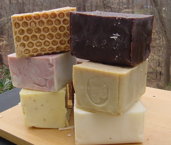 AGED Handmade Artisan Natural Soaps  Made from small batches