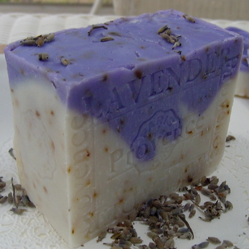 Lavender soap - Lavender Buds