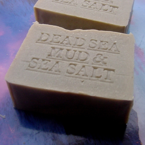 Natural Dead Sea Mud Soap With Dead Sea Salt (Unscented) Soap