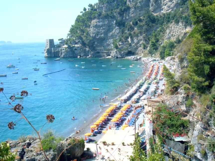 Positano spiaggia Fornillo