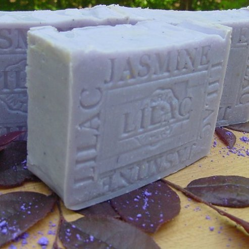 French Jasmine Lilac with Organic Shea Butter Soap