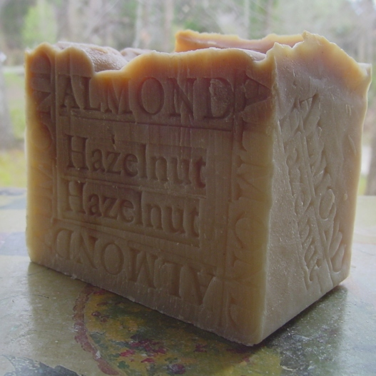 Great soap for all skin types, almond oil is created by the pressing of almond nuts. This oil is used to help relieve dry, itchy skin.