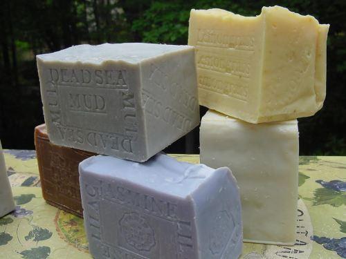 6 Handmade Soaps