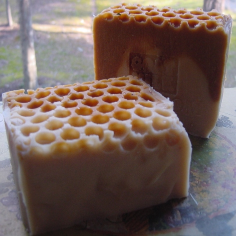 Goats Milk Soap with Golden Blossom Honey - Made With Local Farm Fresh Milk