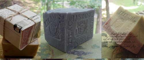 Handmade Soaps for the Holidays !