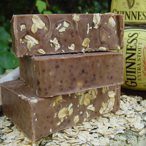 Beer soap for grubby men