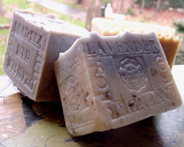 Holidays gift soaps