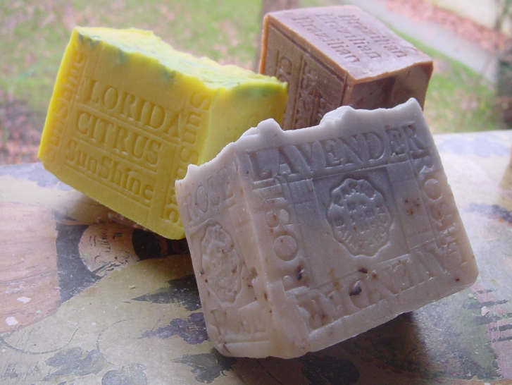 Lavender and Rose Soap Coffee Espresso Soap  Citrus Sunshine Soap