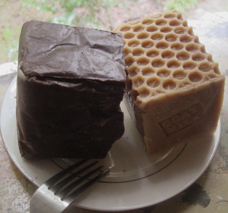 Home made soap -