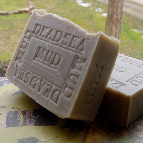 Dead Sea Mud with Cocoa Butter-Black Natural Minerals Soap from Dead Sea with Anise for Oily or Acne