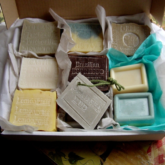 Gift set soaps for men