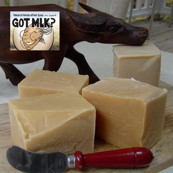 Goat's milk soap for every day use
