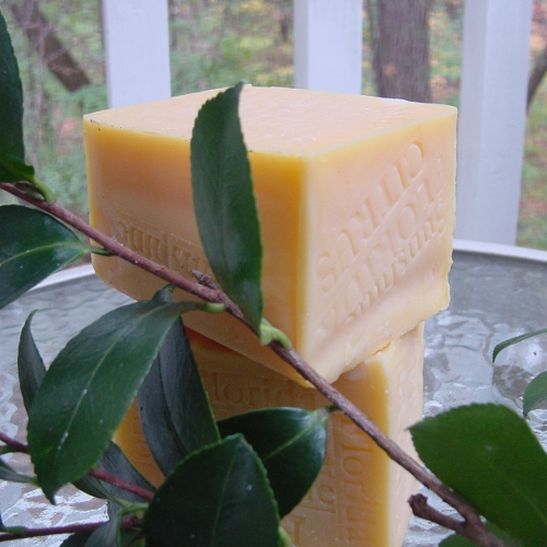 Handmade two soaps one at time,,,