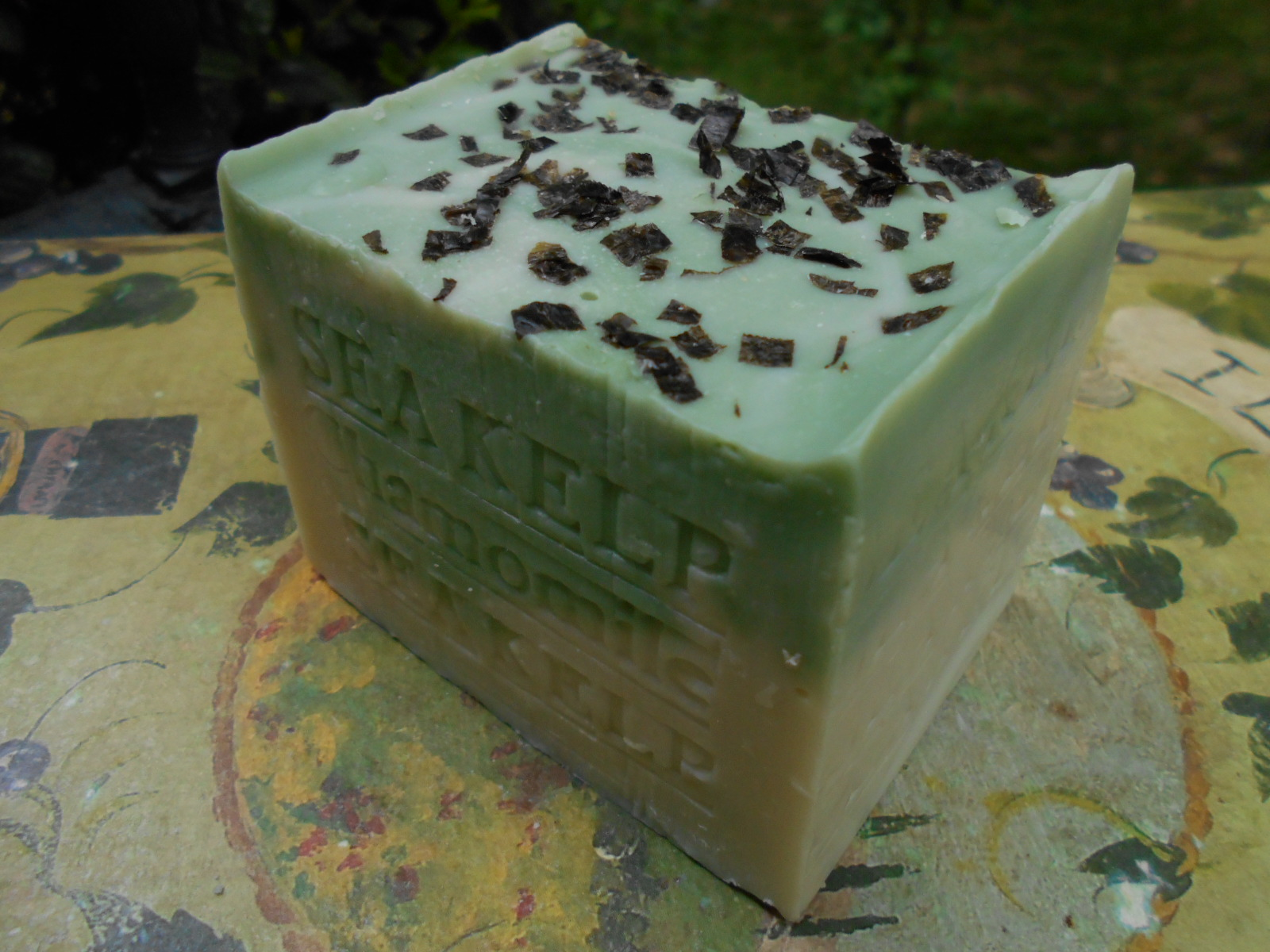 Sea Kelp Soap with Chamomile Herbs