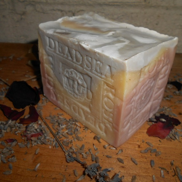 Lavender Mud and rose soap