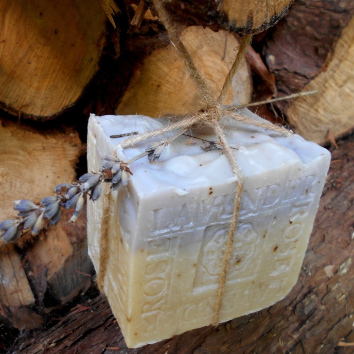 French Lavender Rose Soap Handmade soap