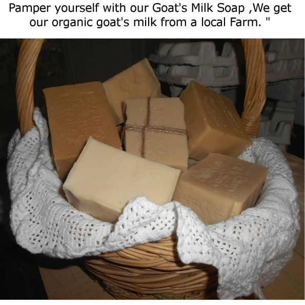 Farm Fresh Goat's Milk Soap