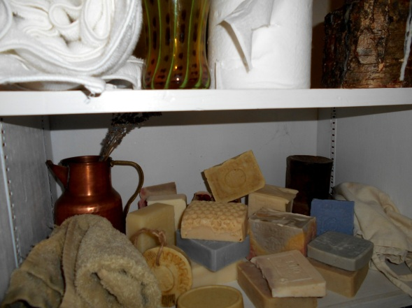 Variety of Shower or bath soaps