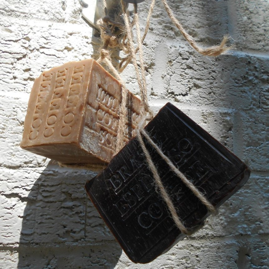 Coffee in natural soap -Fight acne, eczema and psoriasis