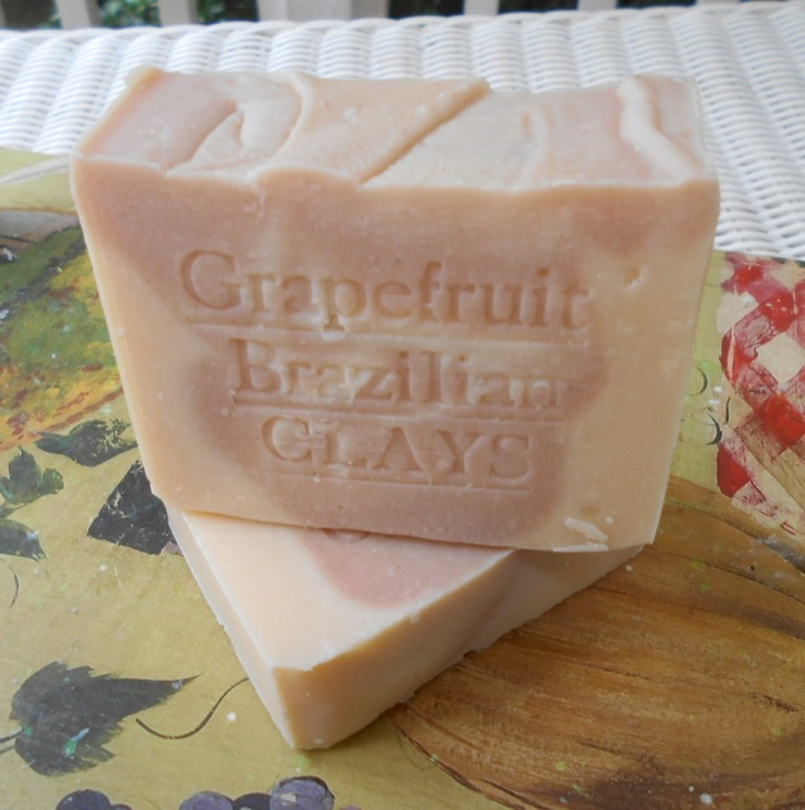 Grapefruit Soap. Photo by Natural Handcrafted Soap.