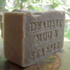 Dead Sea Mud with Dead Sea. Salt Soap -