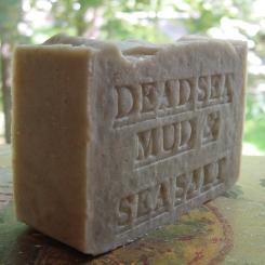 Dead Sea Mud with Dead Sea. Salt Soap -