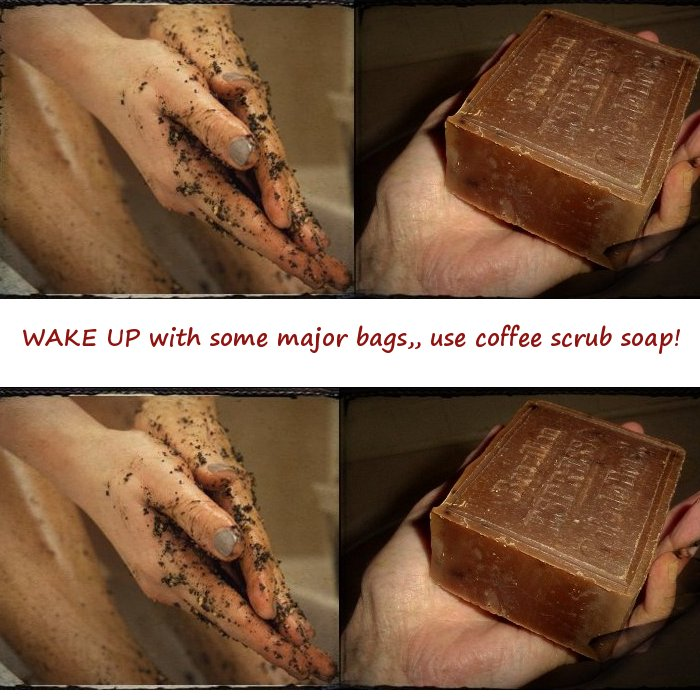 Coffee soap wash your hands