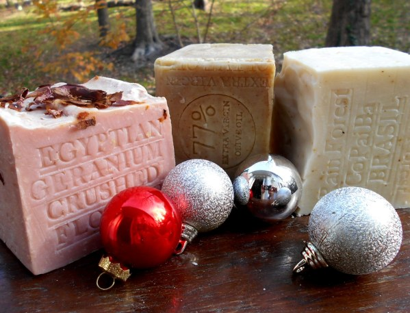 Handmade Soap Christmas