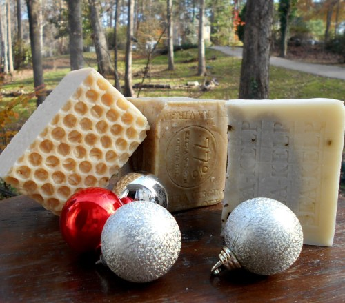 Happy Holidays Gift Handmade soaps