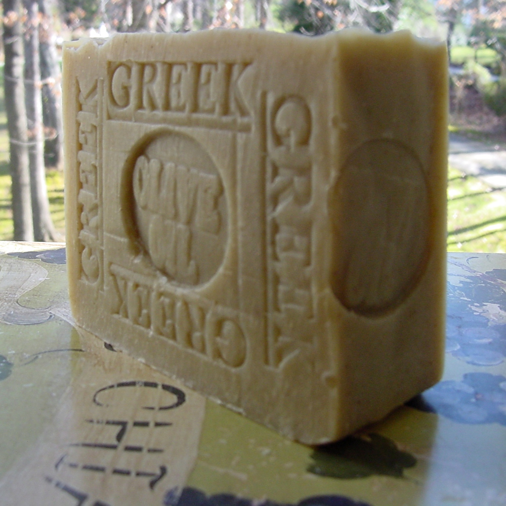 Olive Oil Soap Gentle enough for sensitive skin! A shaving, dry-skin must have!