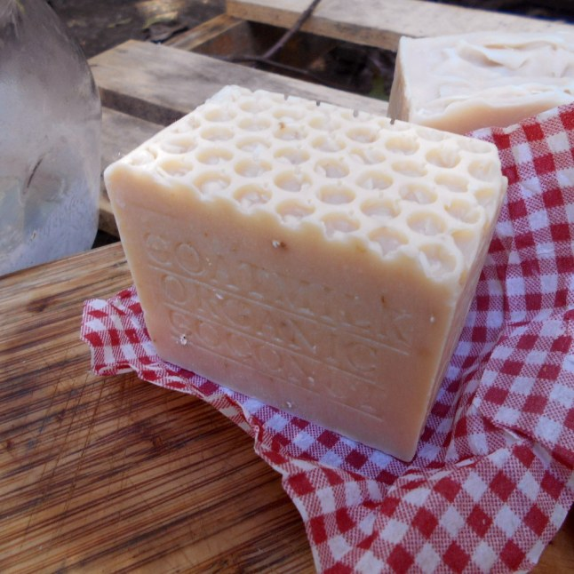 Goat's milk soap - coconut milk for all kin type help treat also people with the driest skin types