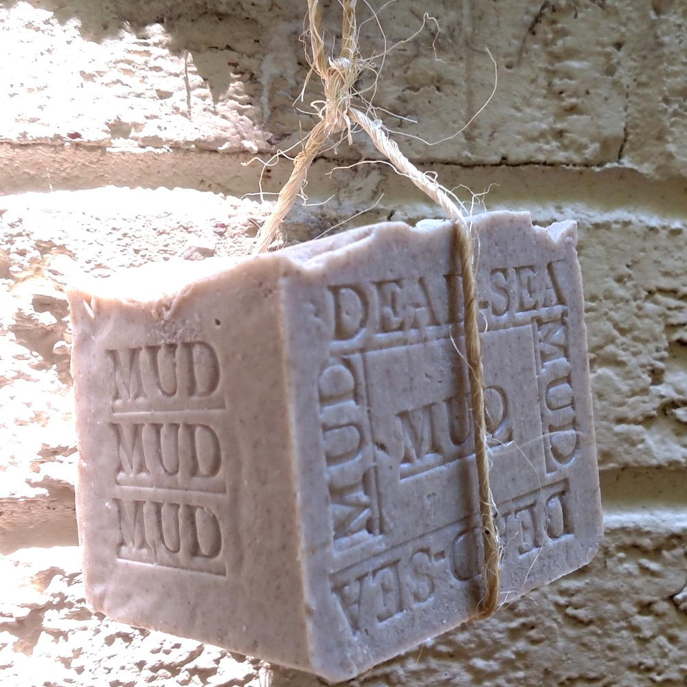 Dead Sea Mud Bar - Homemade Soap with Dead Sea Mud From Jordan !