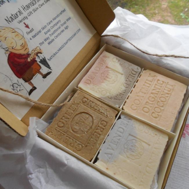 Handmade Gift Soap Natural Skin Care
