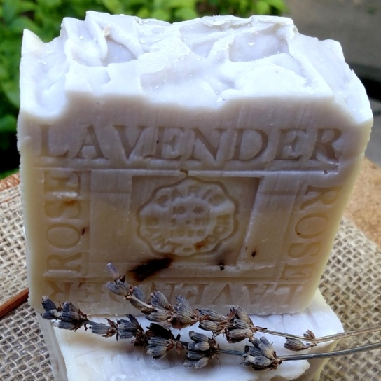 Lavender Rose Soap - (Natural lavender . Rose Soap)