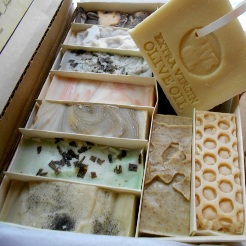 Artisan All Natural Twelve Piece Gentleman's Soap.Gift Set