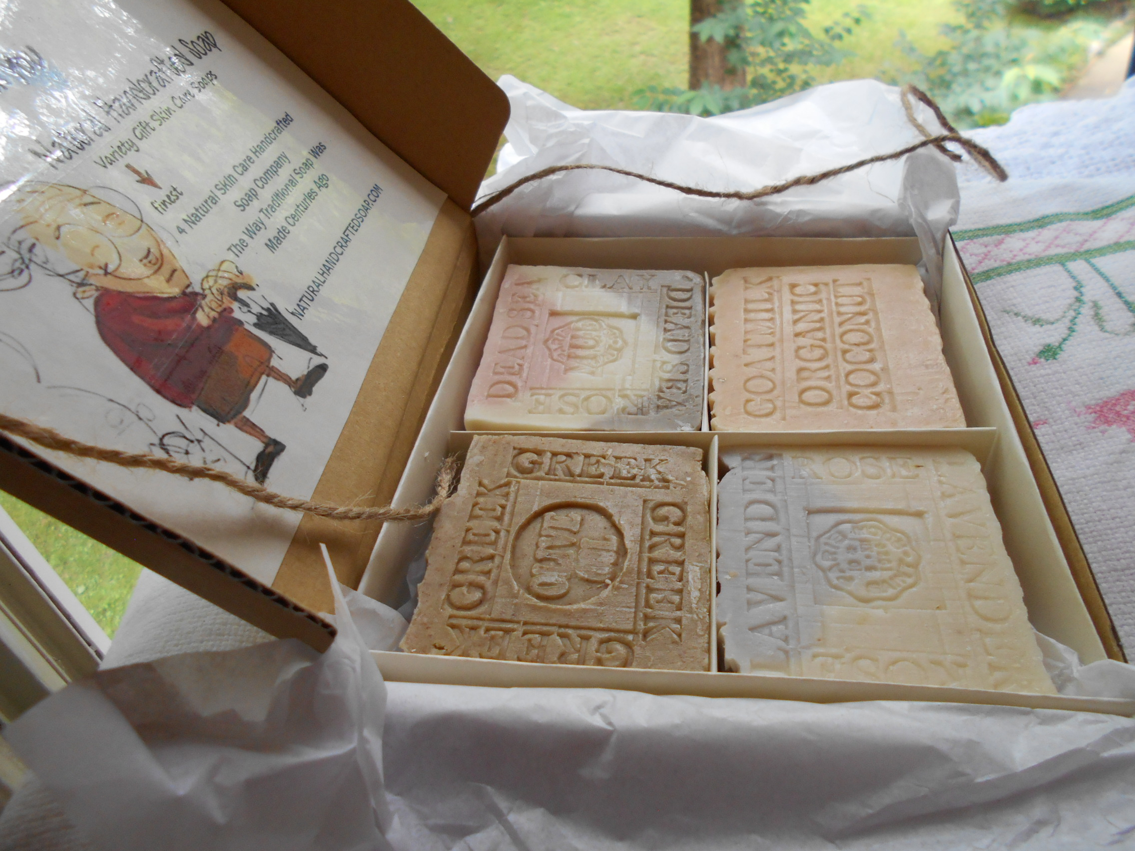 Natural soap for 7 days every day soap