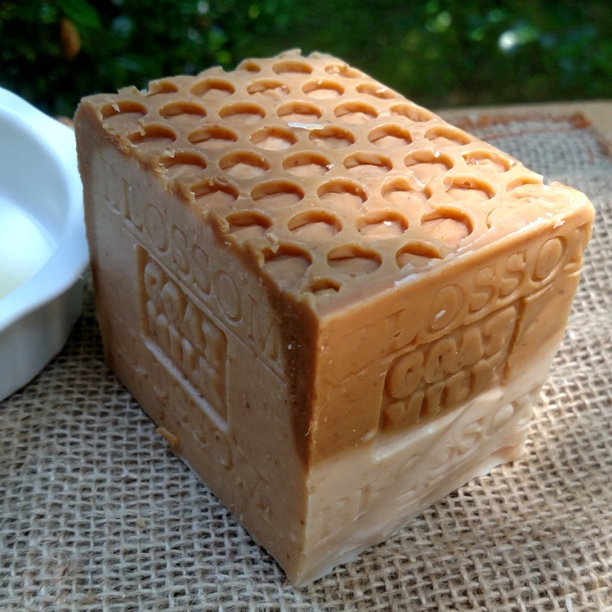 Goat's Milk Blossom Honey Organic Soap Natural Antioxidant  Goat's Milk Soap with LOTS of Golden Blossom Honey ,that complements the moisturizing qualities. Only The Finest local honey straight from the hive , unrefined Used