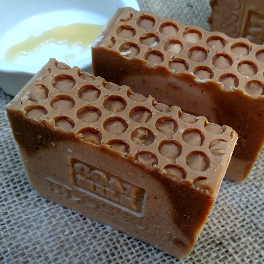 Goat's milk Honey blossom luxury soap