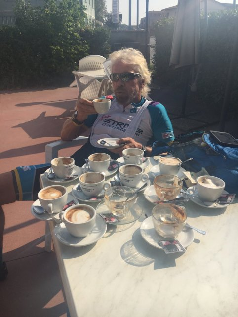 Twitt Meme of Richard Branson Loving Coffee is awesome
