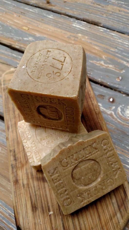 3 Greek Olive Oil Soap