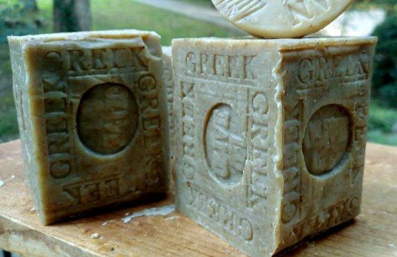 Greek Olive Oil Soap Olive oil soapto soften and nourish your skin.