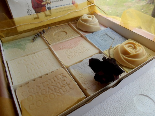 Mother and Baby Soap Artisan All Natural Handmade Soap 12 Piece Gift Set .