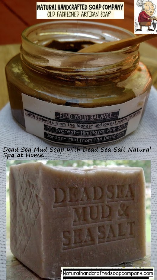 Israel Dead Sea Mud Body Scrub and Dead Sea Mud Soap
