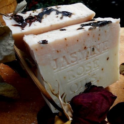 Jasmine Rose Oil Natural Soap