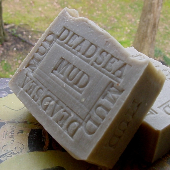 Dead Sea Mud Soap Israel with Shea Butter Artisan 7 oz (Face and Body Bar) Licorice Scented All Handmade !
