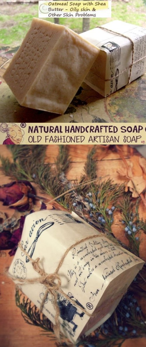 Oatmeal soap Dehydration-and-dryness